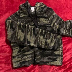 Fuzzy hoodie
